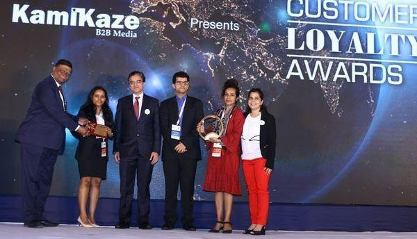 Points for People awarded Best Use of CSR Initiative Linked to Loyalty at the 12th Customer Loyalty Awards held in Mumbai